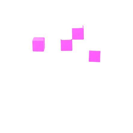 Bino Jeu blocs en bois, multicolore, 50 pièces