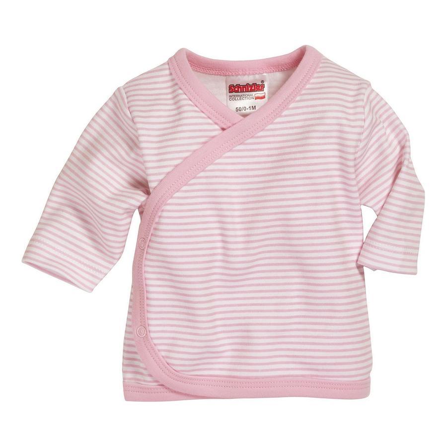 Schnizler Flügelhemd Ringel rosa