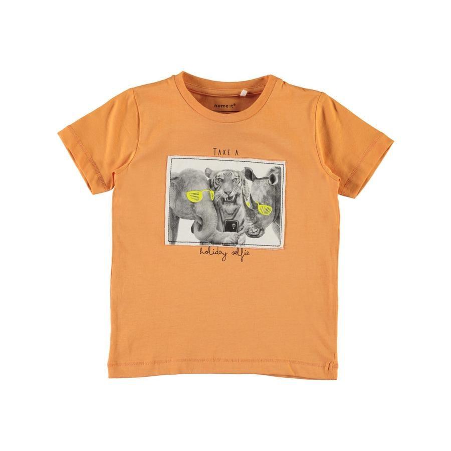 name it Boys T-Shirt Cuivre gallo tanné