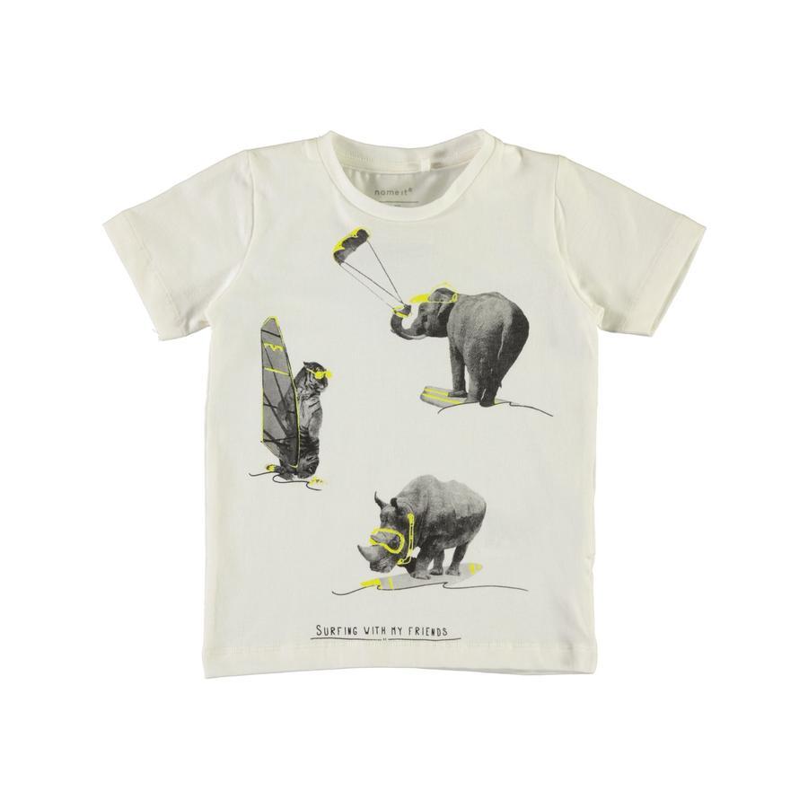 name it Boys T-Shirt Gallo bright white