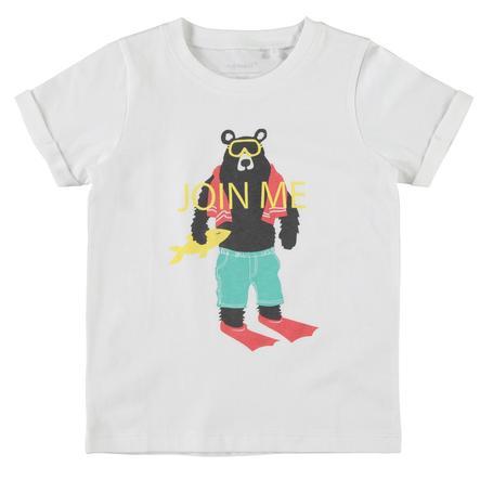name it Boys T-Shirt Victor helder wit