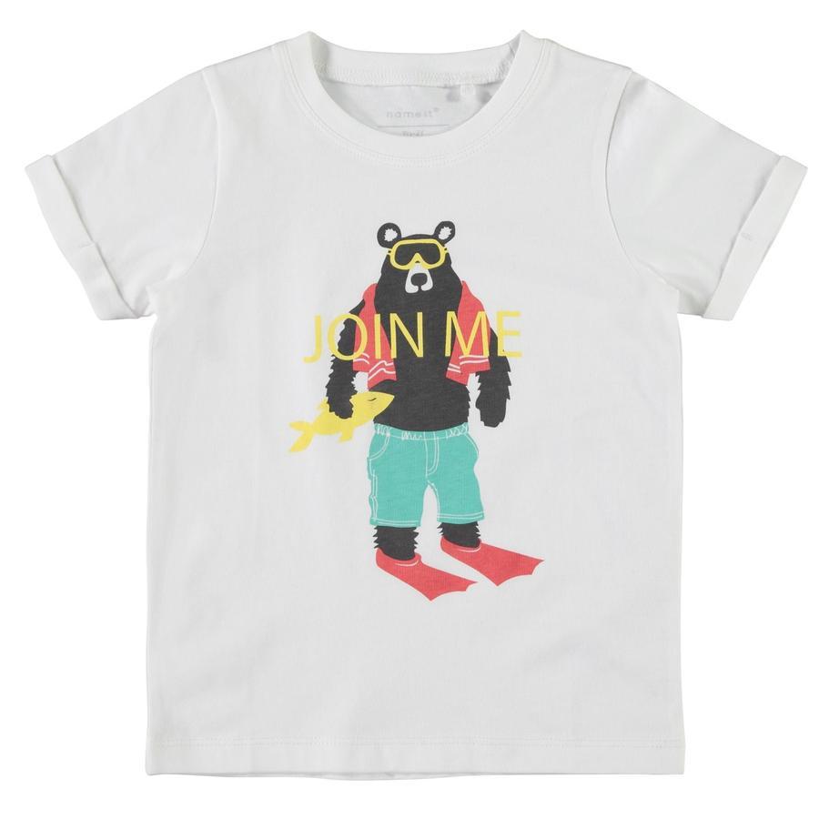 name it Boys T-Shirt Victor blanc vif