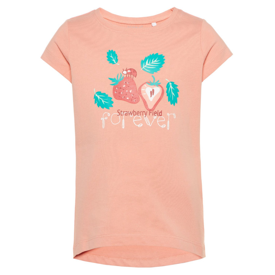 name it Girl s T-Shirt Veen Dahlia fioritura s Veen Dahlia