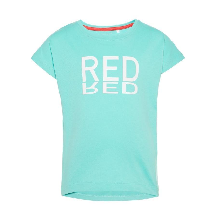 name it Girl s T-Shirt Vegas zwembad blauw