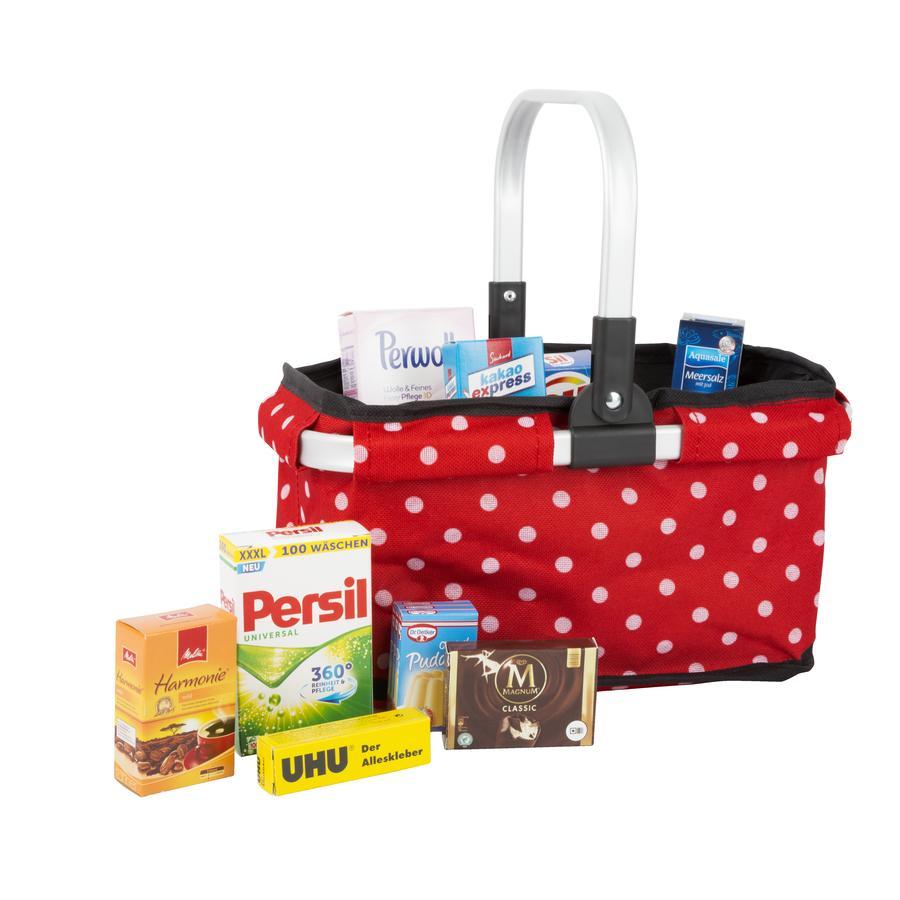 small foot® Einkaufskorb mit Markenprodukten