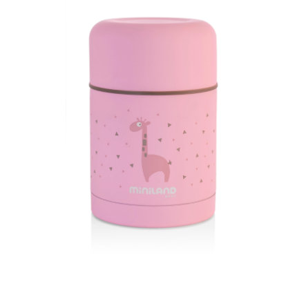 miniland silky food thermos Thermobehälter pink 600ml