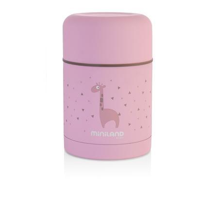 miniland Thermobehälter silky food pink für feste Nahrung