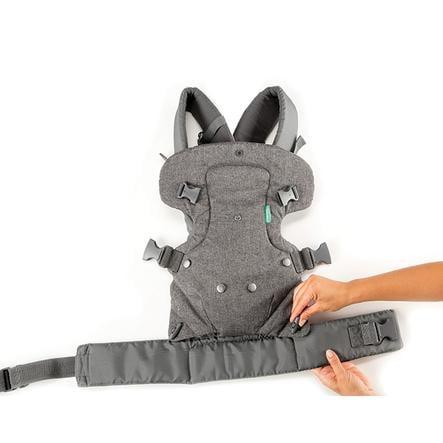 Infantino Porte-bébé Flip Ergo 4 en 1, gris