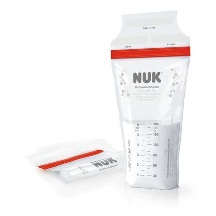 NUK Sachet de lait maternel 25 pièces à la 180 ml