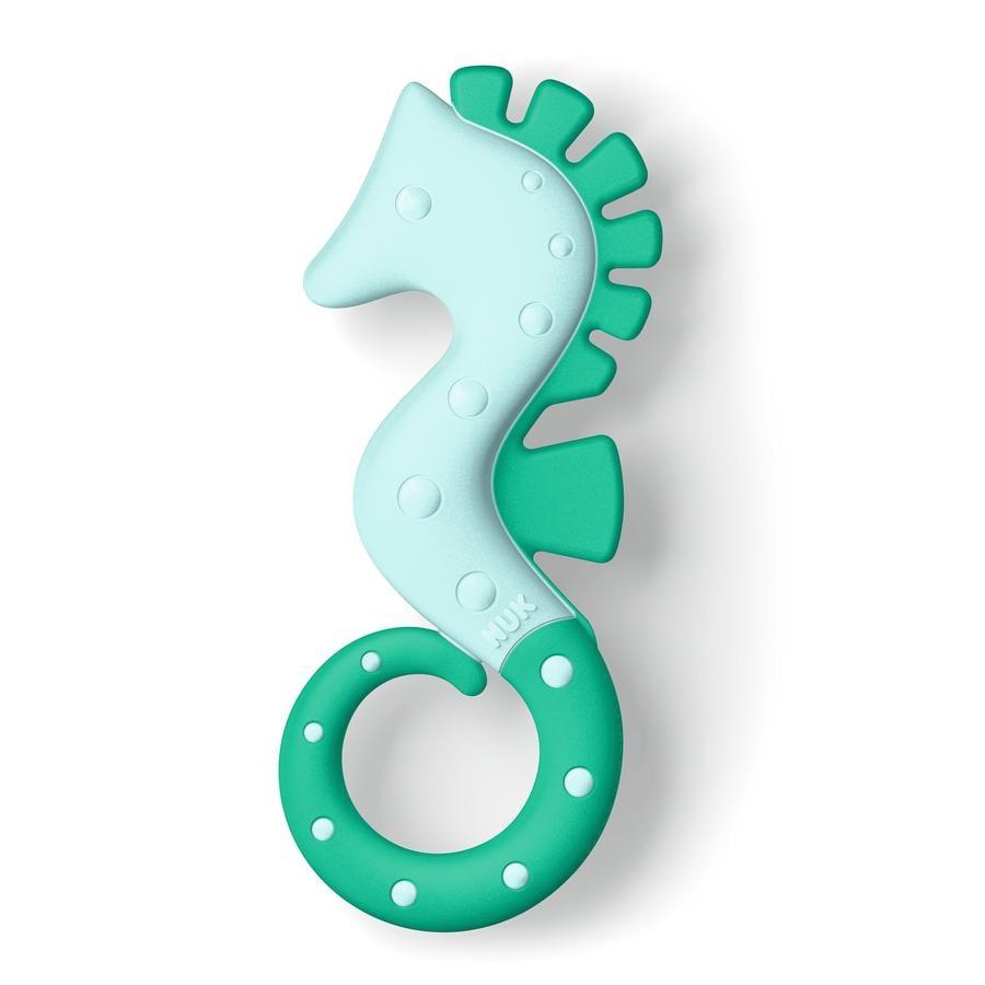 Kroužek na zuby NUK Seahorse zelený od 3. měsíce