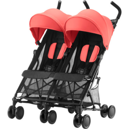 Britax Silla de paseo gemelar Holiday Double, Color durazno
