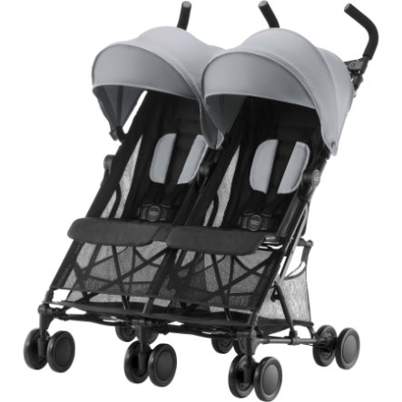Britax Wózek spacerowy podwójny Holiday Double Steel Grey