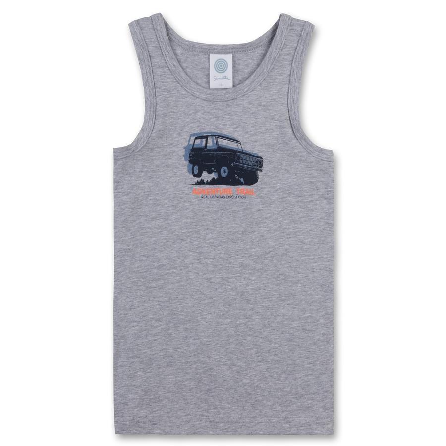 Sanetta Boys Tank-Top grijs melange