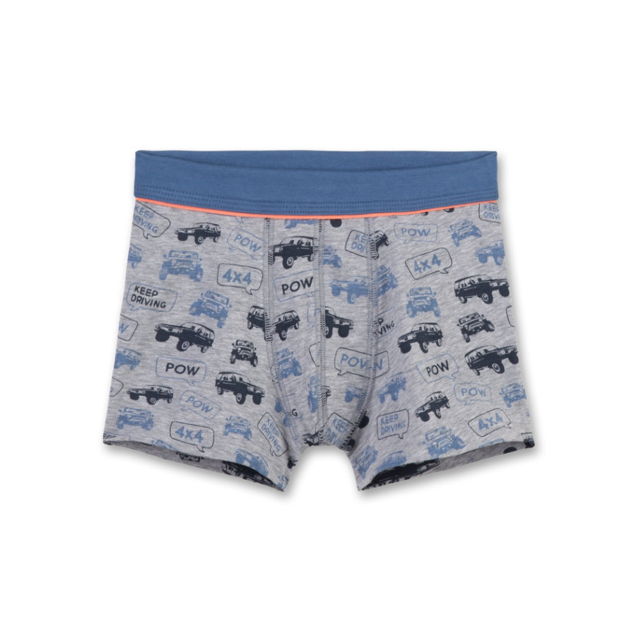 Sanetta Boys Shorts grey melange