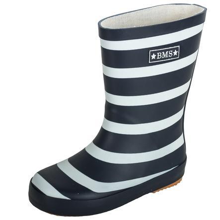 BMS Buty gumowe buty z naturalnej gumowej taśmy Navy