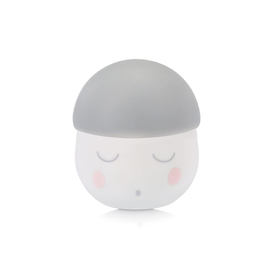 babymoov nachtlampje Squeezy wit/grijs