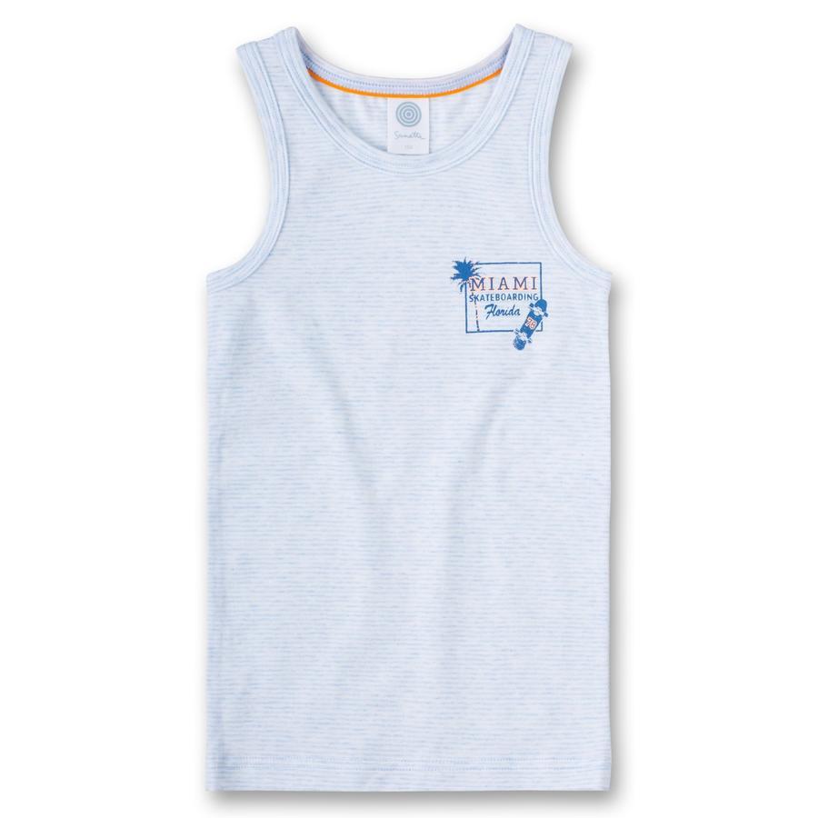Sanetta Boys Unterhemd Streifen bleu melange
