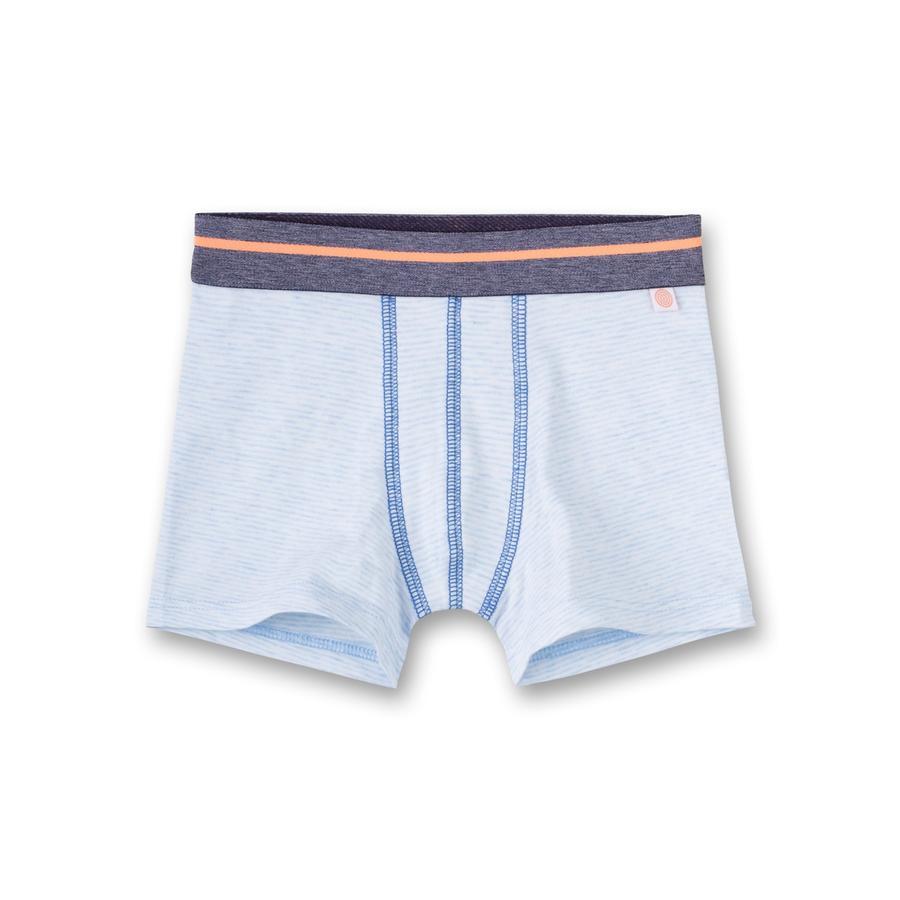 Sanetta Boys Boxershorts strepen blauw melange