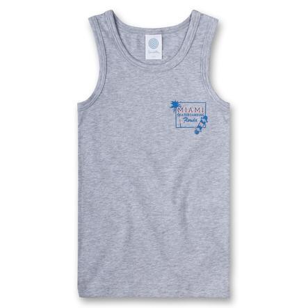 Sanetta Boys Camiseta gris mélange