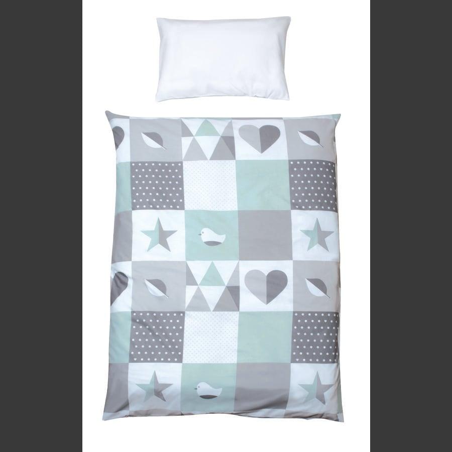 roba 2-delt sengetøy Happy Patch myt 100 x 135 cm
