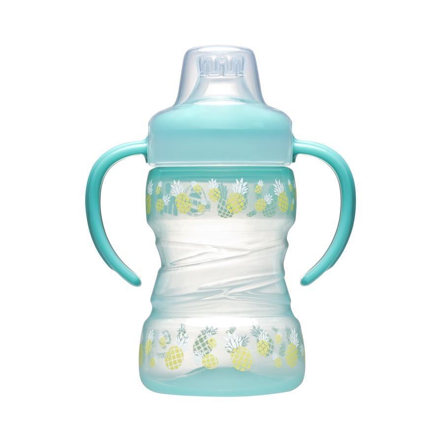 nip Soft Trainer Cup se silikonovým nápojem zobák 260 ml ananasu