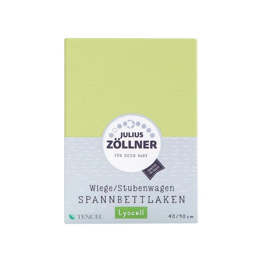 JULIUS ZÖLLNER Spannbetttuch Tencel für Wiege grün