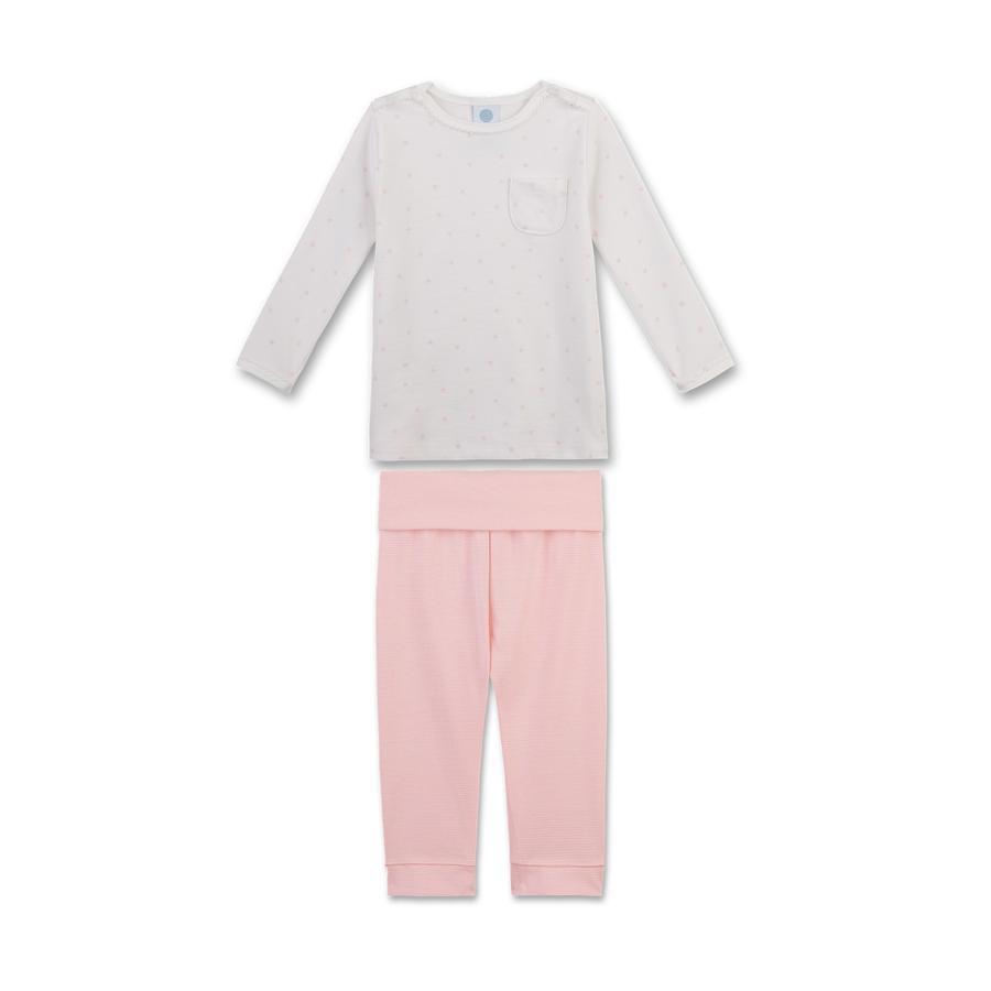 Sanetta Girl s pyjama brisé blanc