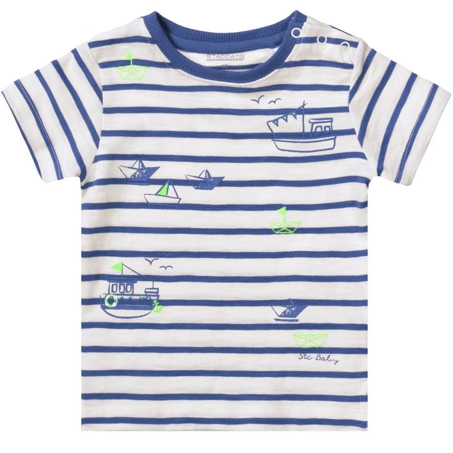 STACCATO Boys T-Shirt Ringel blau