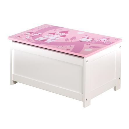 Roba Scatola giochi/panca, corona rosa