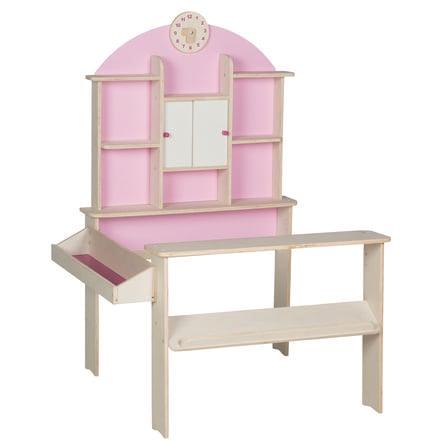 roba prodejní stánek růžový