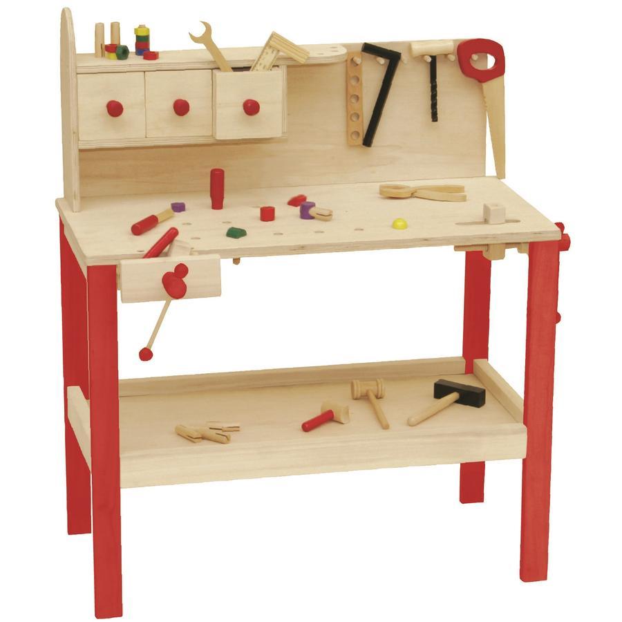 roba Drewniany stół warsztatowy 97210