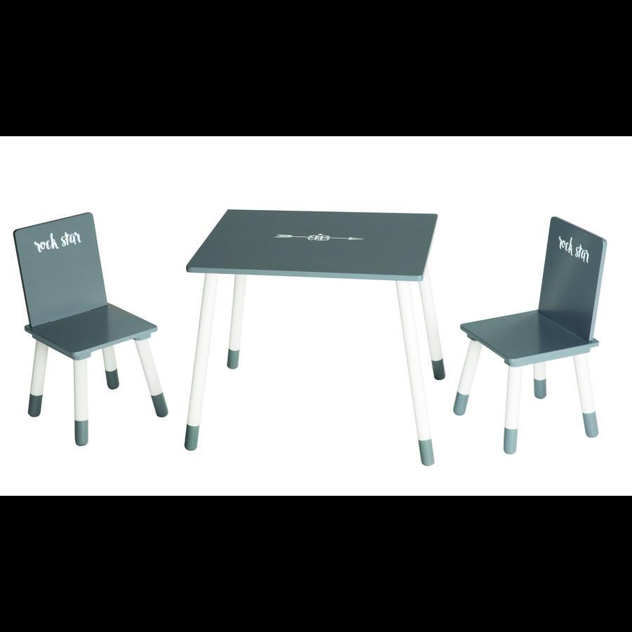 Roba Set tavolo e sedie Rock Star Baby