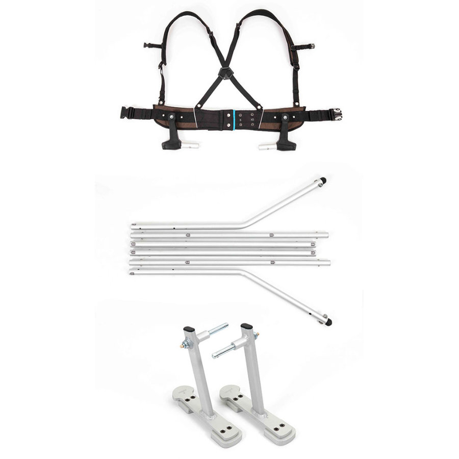 CROOZER Ski Adapter Set Click & Ski®