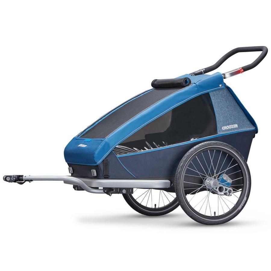 croozer remorque v lo enfant kid plus for 2 blue ocean. Black Bedroom Furniture Sets. Home Design Ideas
