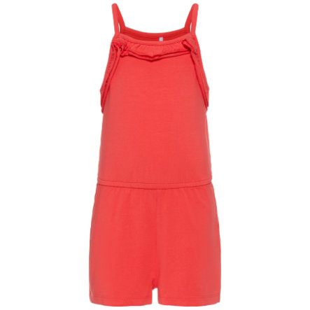 name it Girls Jumpsuit Pia hibiscus