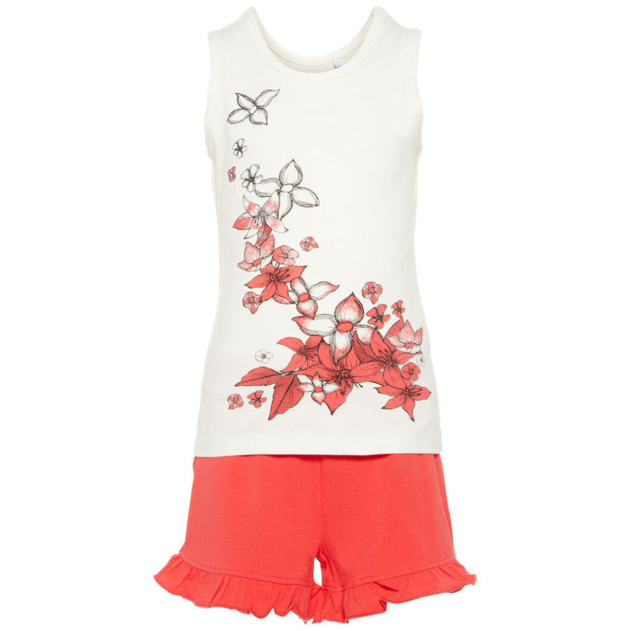 name it Girl s Set 2 stuks Petrax hibiscus