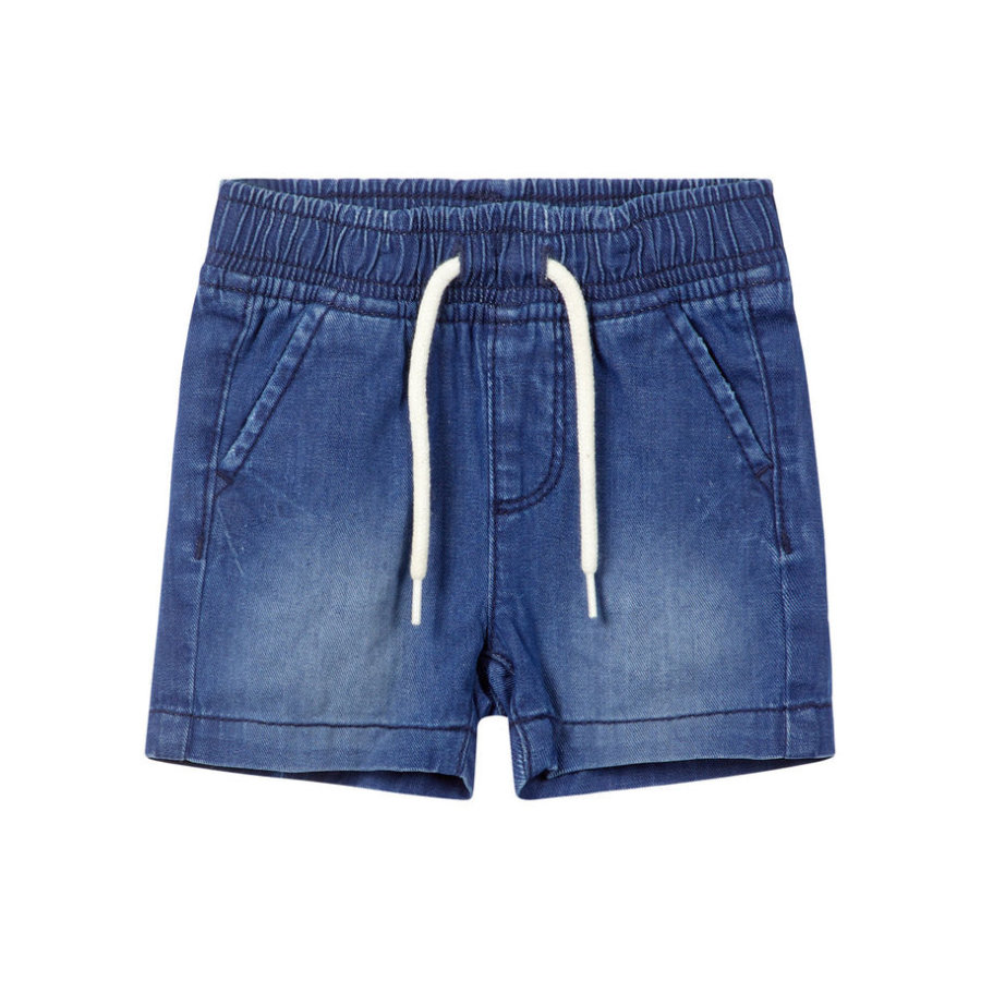 name it Boys Shorts Ryan donkerblauw denim