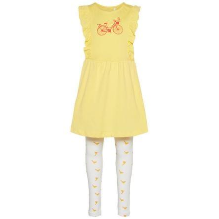 NAME IT tyttöjen Set -mekko ja leggingsit 2 kpl snapdragon
