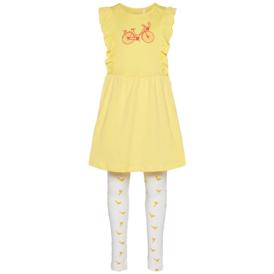 name it Girl s Ensemble robe et leggings 2 mcx snapdragon