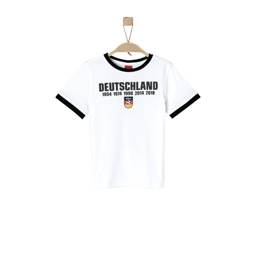 s.Oliver Ventilateur T-Shirt blanc