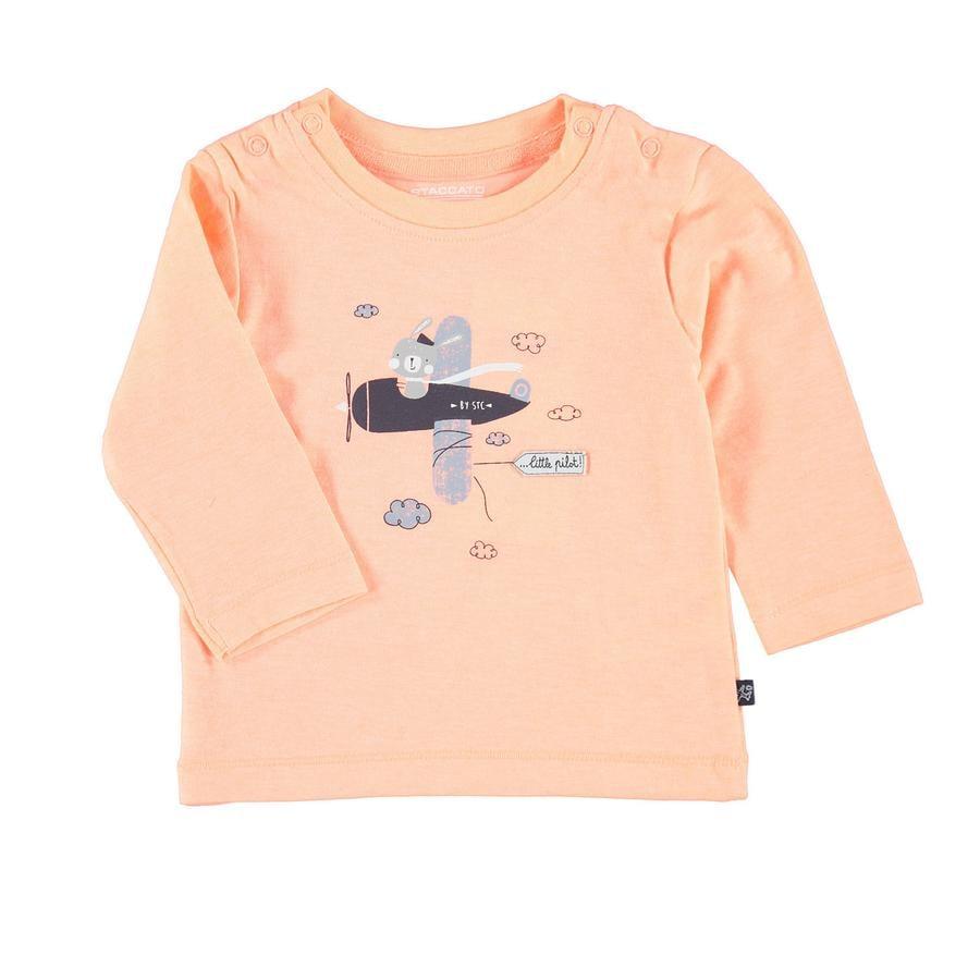 STACCATO Camisa manga larga naranja