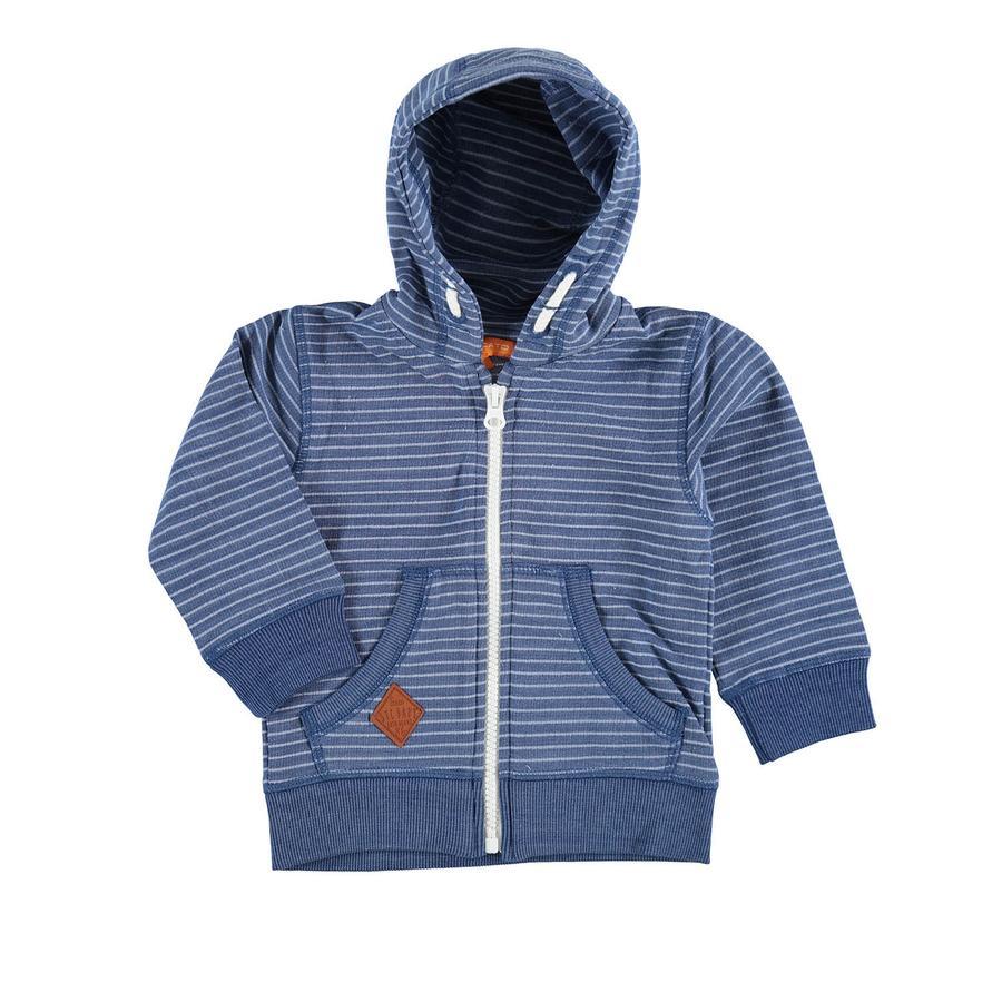 STACCATO Sweatjacke Streifen jeansblau