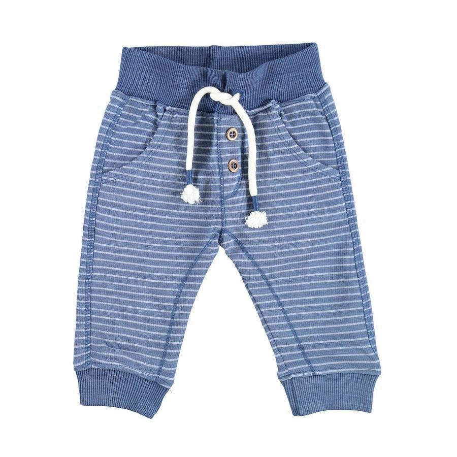 STACCATO pantalon de jogging rayures bleu