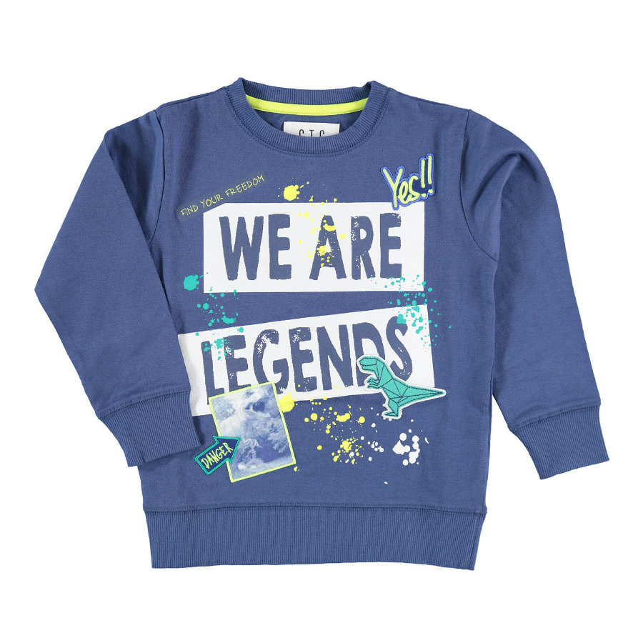 STACCATO Sweatshirt Legende blau