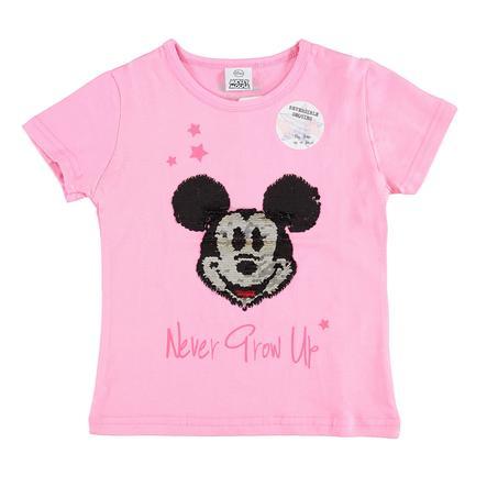 STACCATO T-Shirt Mickey Mouse avec paillettes réversibles rose