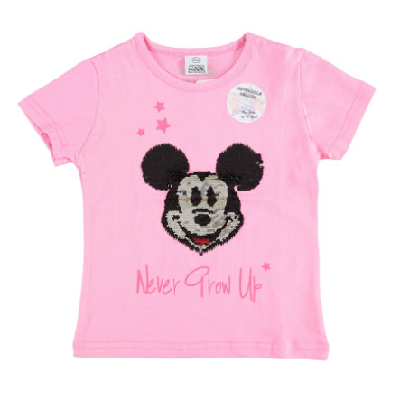 STACCATO T-Shirt Micky Maus mit Wendepailetten rosa