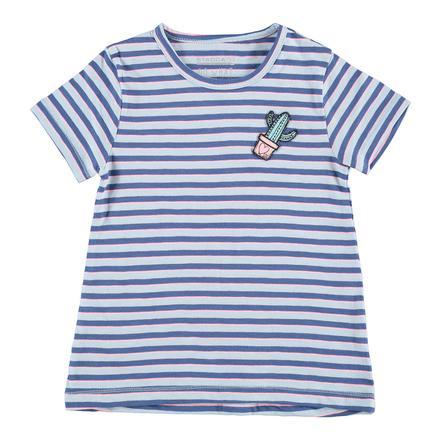 STACCATO Girl Paski Tunic Stripes pastelowy niebieski