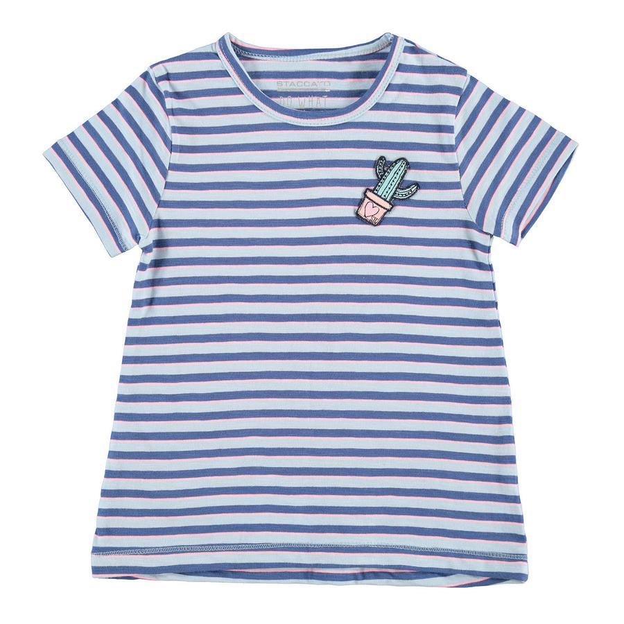 STACCATO Girl s Tunica a strisce blu pastello blu pastello