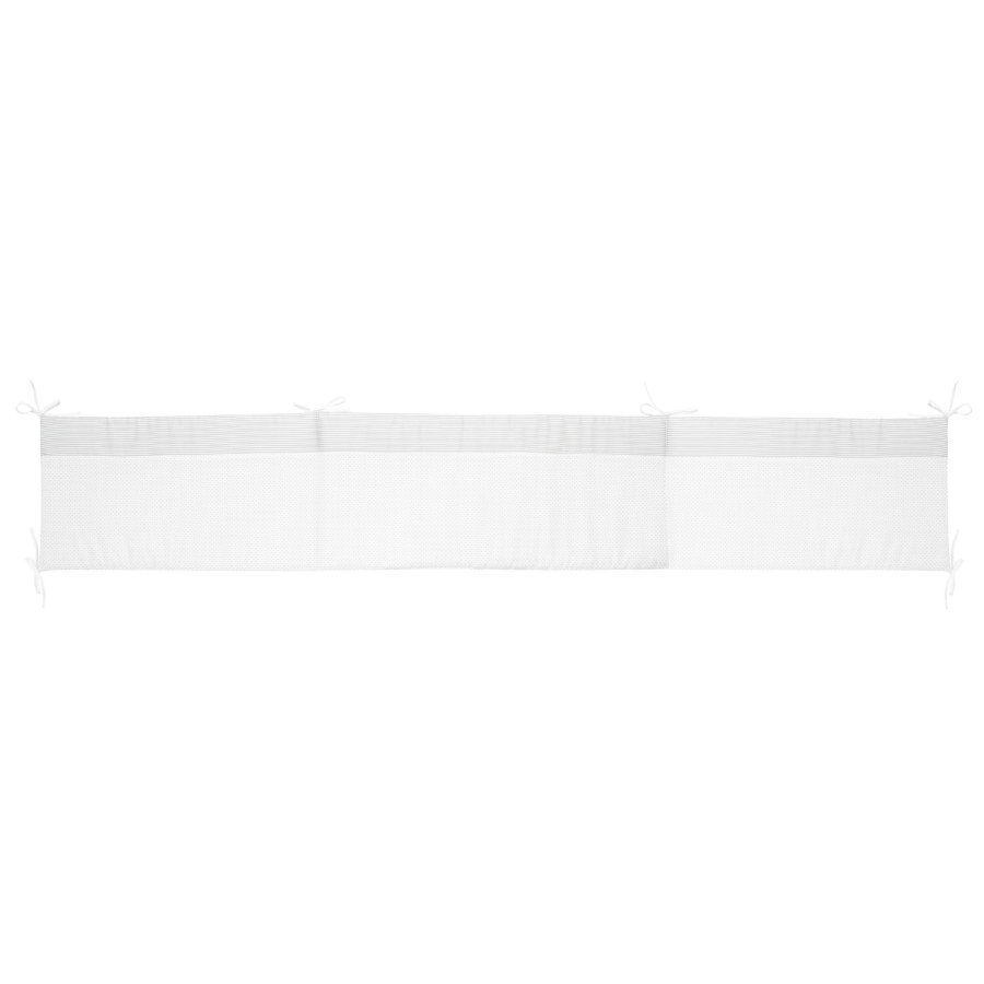 Alvi Tour de lit standard little dots gris 180 cm