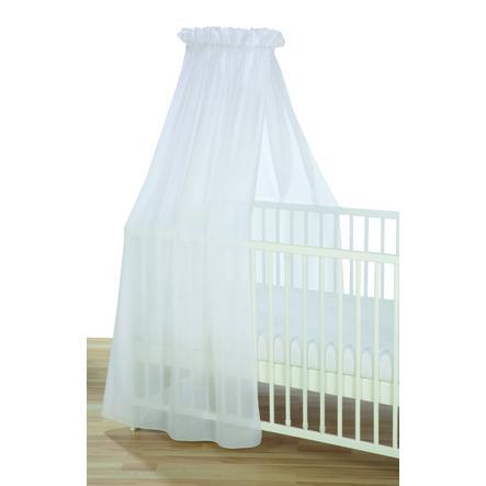 Alvi® Ciel de lit enfant voile blanc